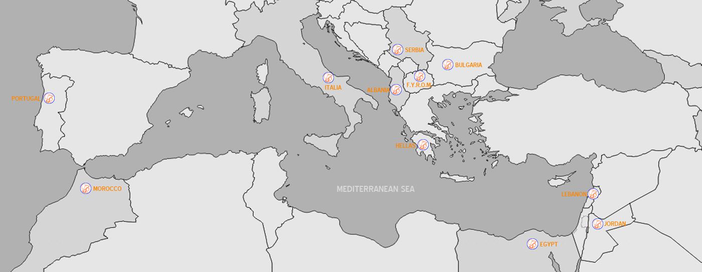 Mediterranean-Map